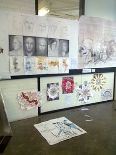 2nd yr Art Elective student works. University Of Sydney, It Works, Gallery Wall, Student, Frame, Day, Design, Home Decor, Picture Frame