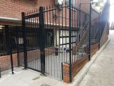 Railings and balustrades for both residential and commercial projects, including fire exit staircases. Security Gates, South London, Railings, Deck, Fire, Outdoor Decor, Home Decor, Safety Gates, Decoration Home