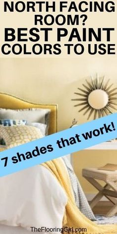 7 Stylish Paint Colors for North Facing Rooms 7 Stylish Paint Colors for North Facing Rooms The top 7 paint shades to use for a north facing room painting northfacing wallcolors paintcolor homedecor Best Wall Colors, Best Paint Colors, Wall Paint Colors, Bedroom Paint Colors, Interior Paint Colors, Paint Colors For Home, House Colors, Interior Painting, Beige Paint