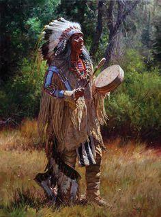 The Western Art Dealer Native American Ancestry, Native American Warrior, Native American Paintings, Native American Artists, Native American History, Indian Paintings, American Indians, Native Indian, Native Art