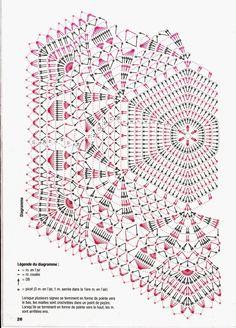 créations crochet: napperon blanc