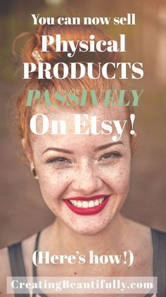 Have you heard the news? Selling Products Passively is Now Possible on Etsy! And in this post I explain it all: how it works and some important things to ...