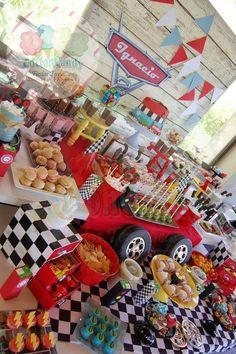 Ignacio's Cars birthday party | CatchMyParty.com
