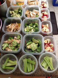 Weekly Meal Prep! | Repinned by @CincySAHM4 - Follow me on Pinterest for more great ideas!