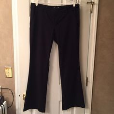✨NWOT✨Black Dress Pants✨ NWOT. Tags taken off, but never worn. Super soft material, waist detailing is unique, perfect for work or dressier occasions! American Eagle Outfitters Pants Trousers