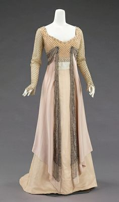 1910 House of Worth dress.