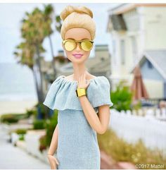 Barbie®: Letting my shades shine for 😎 Doll Clothes Barbie, Barbie Dress, Barbie Life, Barbie World, Barbie Fashion Royalty, Fashion Dolls, Barbie Tumblr, Barbies Pics, Barbie Fashionista Dolls
