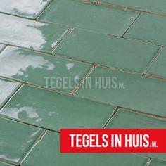 EQ Langwerpige witjes 7,5x15 cm handvorm wandtegel glans jade groen - Artikelcode: TOZCW286. - Nu in de aanbieding voor slechts € 33,95 p/m2 incl. BTW bij Tegels in Huis.nl
