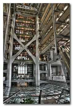 Inside the HSBC Building   Hong Kong