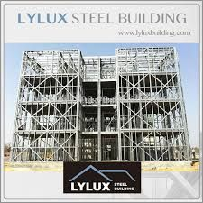 Cold formed steel frame prefab house/light gauge steel structure building, View steel structure building, LYLUX Product Details from Shanghai LYLUX Business