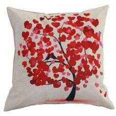 Throw Pillow Covers |Love Bird Tree cover | UniikStuff