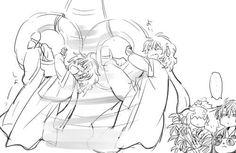 Akatsuki no Yona / Yona of the dawn anime and manga || Zeno Hak and shin ah