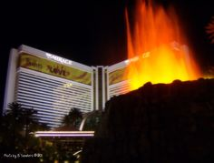 The Mirage - My favorite hotel in Las Vegas. I love and appreciate when they've upgrade us to a suite! Fantastic pool!