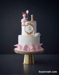 schone-madchen-geburtstagstorte-babycake-firstbirthdaygirl-schone-madchen/ - The world's most private search engine 1st Birthday Cake For Girls, Creative Birthday Cakes, Baby Birthday Cakes, Princess Birthday Cakes, Princess Cakes, Birthday Ideas, Bolo Fack, Baby Girl Cakes, Cake Baby