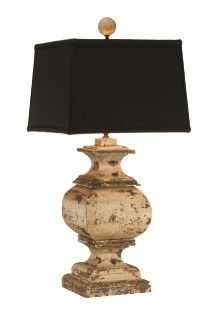 Beach House Living Weathered Wooden Lamp
