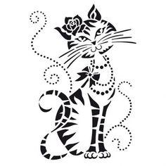 Plantillas Stencil en acetato para la técnica del estarcido Multitud de motivos y diseño Una forma fácil de decorar cualquier trabajo Tamaño A4 y con
