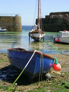 Cornwall, boats