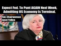 "ALERT VIDEO: Expect The Fed. To Punt AGAIN Next Week! By  Gregory Mannarino  Sept. 13, 2016-This money professional from N.Y. may be a little rough around the edges personality wise, but he hits the nail on the head! It's time to take ACTION! You don't want to get screwed when the crap hits the fan, DO YOU?! This will be just like an asteroid strike…not a question of ""if"" but ""when""! With one big twist…there won't be much time to prepare Start here: www.goldsalvation.com/-solutions-"