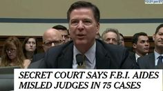 FBI COMEY: WE WIRE TAPPED THE PRESIDENT/NOT!  More lies.