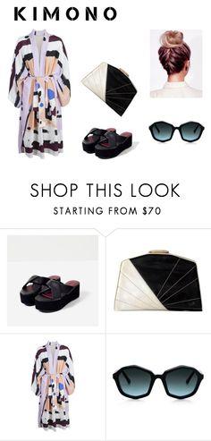 """Kimono look"" by marianvirtua on Polyvore featuring moda"