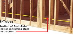 When building a new place, install pest tubing. That way all you have to do is spray pesticides into one end of the tubing and it will spread through every wall.