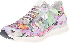 b88374473485db Geox Womens WSUKIE10 Multicolor Sneaker 36 US Womens 6 M     More info  could be found at the affiliate link Amazon.com on image.