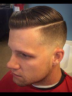 Men's wear # mode homme # fashion for men Barber Haircuts, Cool Haircuts, Haircuts For Men, Slick Hairstyles, Latest Hairstyles, Hairstyles Haircuts, Short Hair Cuts, Short Hair Styles, Moustaches