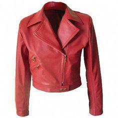 DIY Leather Jacket - FREE Sewing Pattern