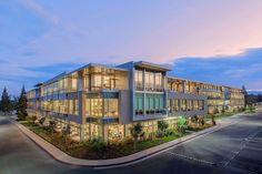 Netflix Headquarters, Los Gatos   Form4 Architecture   #Aluminum #California #Curtainwall #Form4Architecture #FrankPerez #gardens #JohnSutton #LosGatos #METAL #netflix #netflixheadquarters #skybridge #skybridges #stone #Structure #UnitedStates #Wood
