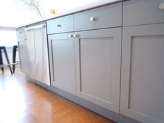 the cabinets are from Scherr's Cabinets & Doors : www.scherrs.com ...