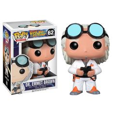 Funko has unveiled Marty McFly as well as a Doc Brown figure. Back To The Future POP! Vinyl Figures hit the shelves Related posts: Funko Pop Vinyl Watchmen Rorschach […] Pop Vinyl Figures, Funko Pop Figures, Doc Brown, Marty Mcfly, Toy Art, All Pop, Silent Bob, Vinyl Collectors, Movies