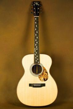 Martin OM-28 Wolf Custom Acoustic Guitar in Musical Instruments & Gear, Guitars & Basses, Acoustic Guitars | eBay