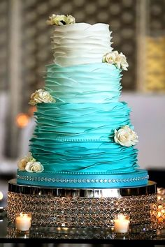 Spectacular Buttercream Wedding Cakes ❤ See more: http://www.weddingforward.com/buttercream-wedding-cakes/ #weddingforward #bride #bridal #wedding