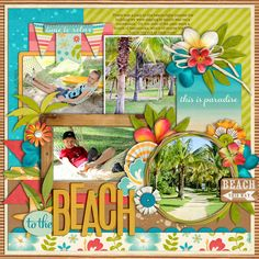 Used the following from the Sweet Shoppe: Cindy's Templates - Universal Album 4 by Cindy Schneider Once Upon a Summer: Chilling by Kristin CB