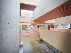 Gallery of School Jean-Monnet / Dietrich | Untertrifaller Architects + CDA Architectes - 1