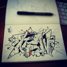 Sketch By Atew-one - Iglesias (Italy)
