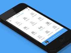 Home Guard, Home Automation App | Icon-centric user interface design #UI