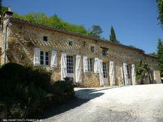 Vakantiehuis: Vrijgelegen lottoise woning met absolute privacy te huur voor uw vakantie in Lot (Frankrijk)