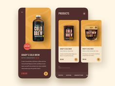Product Page Exploration food app android app ios app mobile app web design agency cart ecommerce app business 2019 trends illustration typography ux ui product hiwow ecommerce website web design 2018 trends landing page Ui Design Mobile, Web Design Agency, App Ui Design, Dashboard Design, Interface Design, User Interface, Great Website Design, Ecommerce App, Cold Brew Iced Coffee
