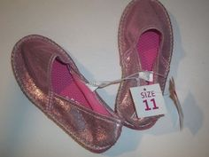 Extremely Me! Youth Girl's Shoes Flats Espadrilles Slip On Pink Shiny Size 11 #ExtremelyMe #Flats