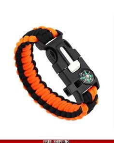 Merkur Paracord Bracelet 5 in 1