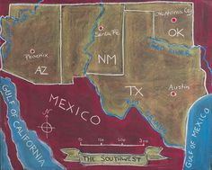 5th Grade; US Geography: Southwest