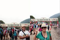 The Fuji Rock Festival is set on a ski resort on Mt Fuji in Japan in what has got to be one of the most ideal settings for a music festival - it takes place in a thicket of lush forests, streams, and hills. The confirmed dates for the Fuji Rock festival are July 26 - 28, 2013.   #music #festival #Japan #Fuji
