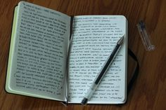 "thelittlenotebooks: ""I like you decide the rules when keeping a journal, You don't have to write every single day or have specific amount or words.You are able to feel free to incorrectly write a very..."