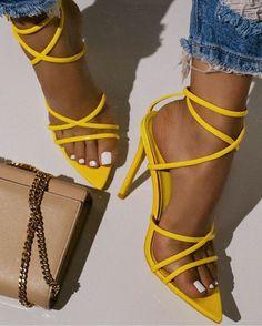 Strappy Sandals Heels, High Heels Stilettos, Shoes Heels, Aesthetic Shoes, Beige Aesthetic, Super High Heels, Hype Shoes, Sneaker Heels, Sneakers