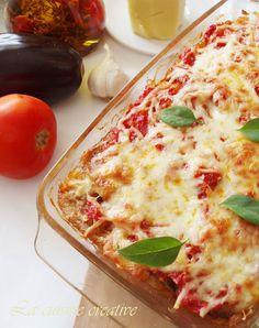 La cuisine creative: Parmigiana di melanzane