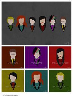 Faceless Mortal Instrument Fan Art- Courtesy of http://otepinside.tumblr.com