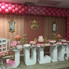 Julia's Royal Party - Princess