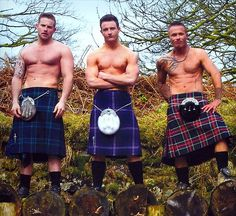 THE KILTED MAN