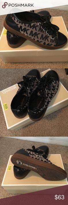 MK city sneaker. Worn a few times. Selling matching wallet would sell as a pair for a discount. Michael Kors Shoes Sneakers